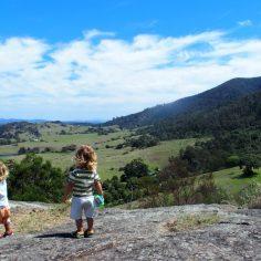 central tilba lookout, Australie